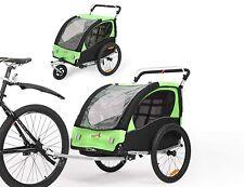 Fiximaster BT502 multifunktion 2in1 Fahrradanhänger/Kinderwagen mit Handbremse