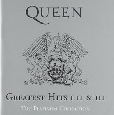 Greatest Hits I, II & III - The Platinum Collection (3CD) Box set Queen
