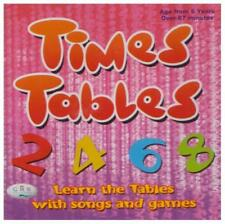 Times Tables: Learn the Tables with Songs and Games by CRS Records | Audio CD Bo