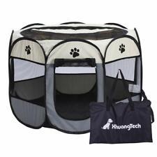 Grey Portátil Leve Pop-up Dog Pet Kennel Casa Outdoor Gaiola Puppy Cat Pet