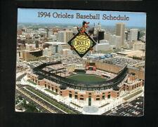 Baltimore Orioles--Camden Yards--1994 Pocket Schedule--Southwest Airlines