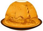 lumière-glow PHARE bougeoir photophore bord de mer bougie chauffe-plat céramique