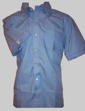 NEW! XSmall MODERNACTION Sky Blue Shirt Ben Skinhead Mod Oi Ska Sherman Lonsdale