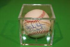 SPARKY LYLE Autographed MLB Baseball, MLB - GUARANTEED AUTHENTIC