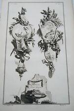 EAU FORTE JEAN CHARLES DELAFOSSE-VOYSARD LES PERSES  RELIGION TROPHEES 1772