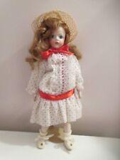 """French Bru Jne 14"""" Hard & Soft Body Doll with Socket Head"""