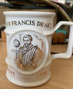 Holkham Pottery Sir Francis Drake Mug Limited Edition