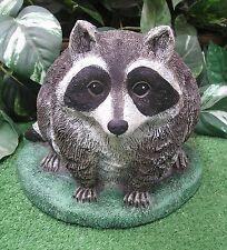 Baby Fat Chubby Raccoon Latex Fiberglass Production Mold Concrete Plaster