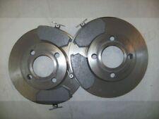Bremsbeläge Bremsscheiben Voll vorne für Audi 80 B3 90 100 44 1,6 1,8 1,9 D