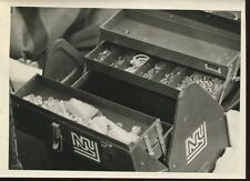 Football NFL 1970's Press Photo 5x7 New York Giants Trainer Medical Kit