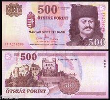 HUNGRIA HUNGARY 500 forint 2008 Pick 196a  SC / UNC
