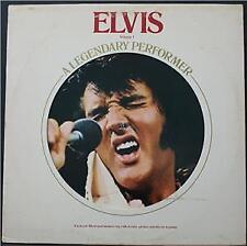 ELVIS PRESLEY - A LEGENDARY PERFORMER VOLUME 1 - POP ROCK VINYL LP
