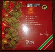 Weihnachtsbaumbeleuchtung, Mini-Lichterkette, Mini-Kette für Innenräume neu