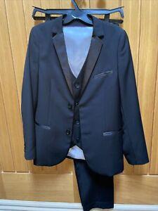 Boys age 11-12 M&S Tuxedo 3 Piece Suit