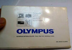Olympus OM Lens Cleaning Tissue Paper vintage 1970's OM-1n Om-2N Genuine OEM