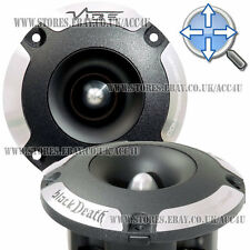 "Vibe BlackDeath Pro Car Audio Single 4"" Bullet 300w Compression Driver Tweeter"