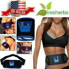 AB GYMNIC ABDOMINAL MUSCLES 6 PACK ABS BELLY MASSAGER BELT & 2 STRAPS & GEL KIT