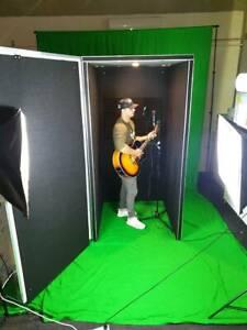 Vocal recording booth portable