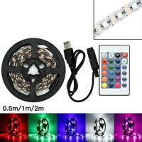 USB waterpoor LED Strip Light TV Back Lamp 5050RGB ColourChanging+Remote Contror