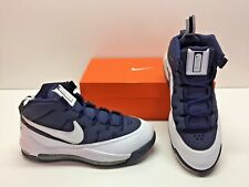 Nike Power Max TB Basketball White Navy Trainer Athletic Sneakers Shoes Mens 8.5