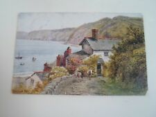 A R QUINTON Postcard 2365 CLOVELLY BAY Franked & Stamped 1933   §A2869