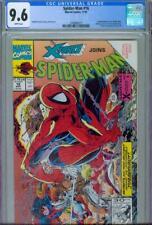 SPIDER-MAN #16 CGC 9.6, 1991, X-FORCE APPEARANCE, LAST MCFARLANE ON SPIDER-MAN