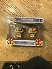 Kingdom Hearts Chip and Dale FUNKO Pop Vinyl Figure 2 Pack