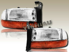 97-04 Dodge Dakota 98-03 Durango Chrome Housing Headlights & Bumper Lights