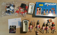 lot 2x Playmobil 3544 Sentinel Klicky GUARD SOLDIERS redcoats imperial 1 NEW SET