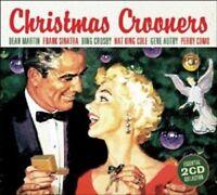 DEAN MARTIN/FRANK SINATRA/NAT KING COLE/+ - CHRISTMAS CROONERS  2 CD  NEU