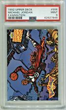 1992/93 Upper Deck *Michael Jordan* Fanimation ~AGENT 23~ PSA 9 Mint