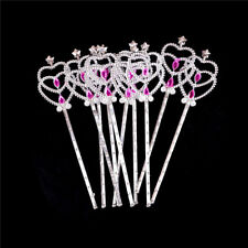 10PCS Crystal Girls doll Magic Wand Cosplay Crown Magic Wand RS