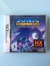 Sonic Chronicles Fratellanza Oscura NUOVO RARO Nintendo DS -No Zelda Pokemon 64