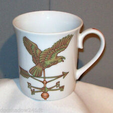 Weather Vane BIRD 1981 Porcelain Mug Cup by Shafford dated 1981 *