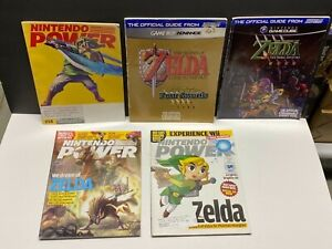 ZELDA LOT of 5 Nintendo Power & Strategy Guide Four Swords GBA  Link to Past