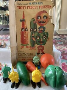 "Vintage/antique Mr Potato Head Game/toy ""Tooty Frooty Friends "" With Tiny Hands!"