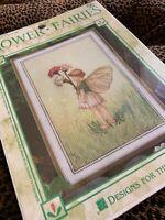 Vintage Cross Stitch Kit Cicely Mary Barker The Daisy Fairy Hg14