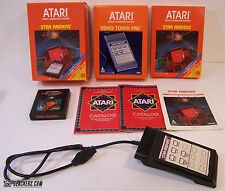 Star Raiders (Atari 2600) with Video Touch Pad NEARLY COMPLETE IN BOX!!!