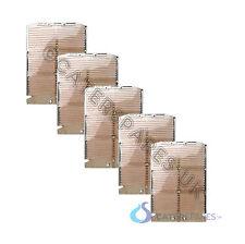 DUALIT COMBI 2+2 FULL HEATING ELEMENT SET 3 X CENTRE 2 X END 4 SLOT / SLICE
