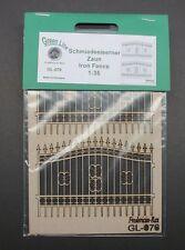 GreenLine GL076 - Iron Fence - laser cut 1:35 diorama accessory