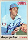 Fergie Jenkins Autographed 1970 Topps #240 Card PSA/DNA