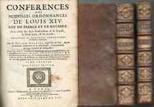 livre ancien de Droit, XVIII° siècle,ordonnances Louis XIV, 1703