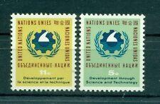 Nations Unies New York 1963 - Michel n. 124/25 - UNCSAT