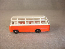 Old Vtg Diecast Matchbox #68 Mercedes Coach Bus Toy Made In England Orange