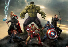 Marvel wallpaper mural for children's bedroom Avengers - Hulk gian photo wall
