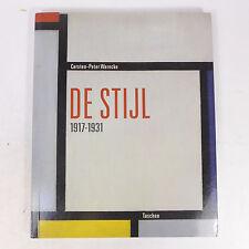 1994 De Stijl 1917-1931 Carsten- Peter Warnecke Taschen Paperback Art Coll. Book