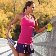 Athleta Stripes Skills and Drills Tank Top Hot Pink Size XXS, 2XS
