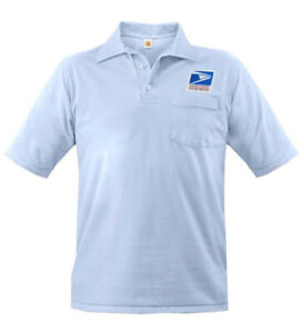 Letter Carrier USPS Worker Uniform XL Knit Polo Short Sleeve Mens Regular NEW