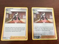 Pokemon Sword and Shield Holo & Reverse Holo Marnie Trainer 169/202 Combo