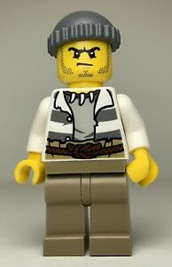 Lego City Swamp Police MALE CROOK Minifigure cty0515 FAST SHIPPING!